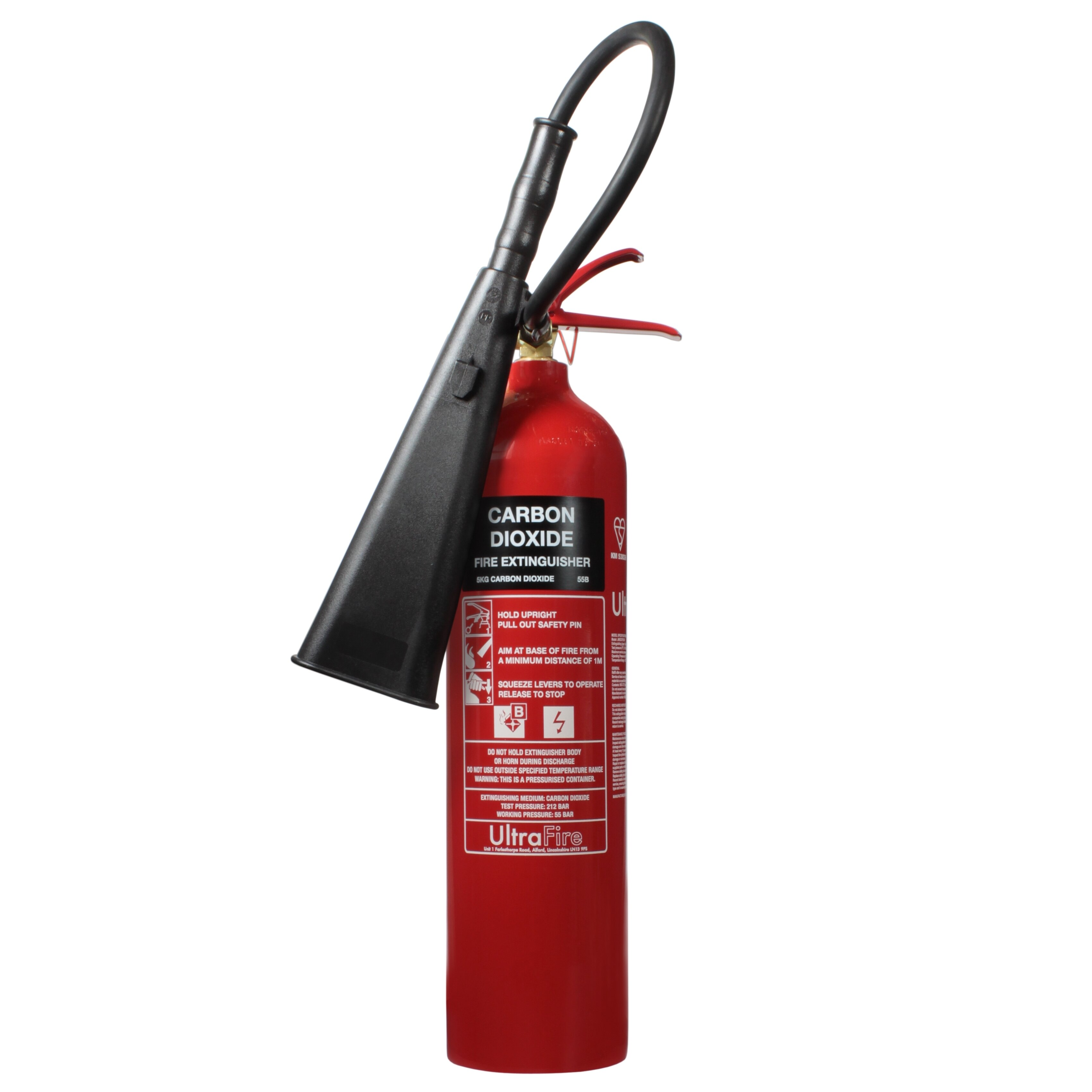 Ultrafire 5kg CO2 Fire Extinguisher