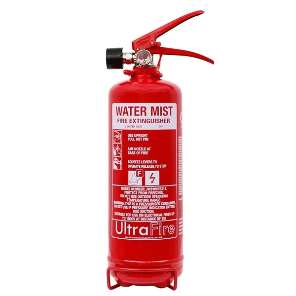 1ltr+ Dry Water Mist Extinguisher
