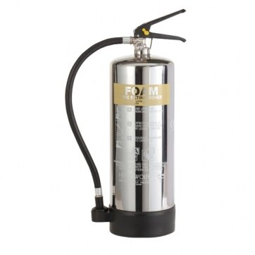 Image of the Stainless Steel 6ltr AFFF Foam Fire Extinguisher