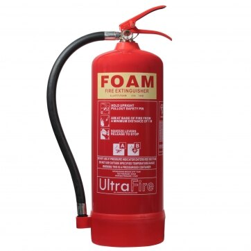 Image of the Ultrafire 6ltr AFFF Foam Fire Extinguisher