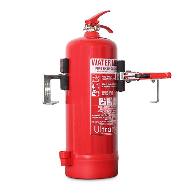 Fire Extinguisher Servicing Clamp