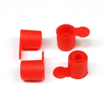 Image of the Pin End Caps - Packs of 100