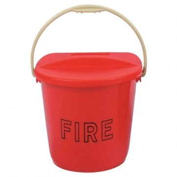 Image of the Plastic Fire Bucket
