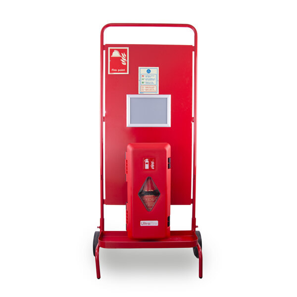 Image of the UltraFire Single Cabinet Site Stand with Optional RF Site Alarm