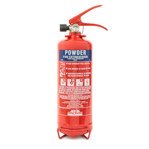 Image of the Jewel Saffire 2kg ABC Dry Powder Fire Extinguisher